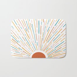 Sunshine All Around Bath Mat