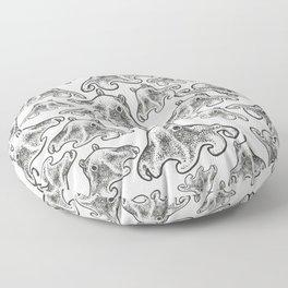 Octopus Print Floor Pillow