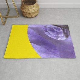 Yellow Mystical Powers of Amethyst #society6 Rug
