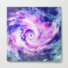 Swirling Thoughts Metal Print