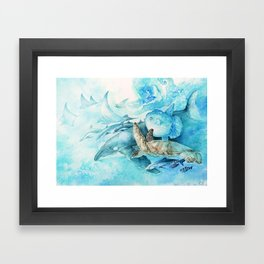Gulf Stream Framed Art Print