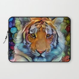 Painted Tiger Laptop Sleeve