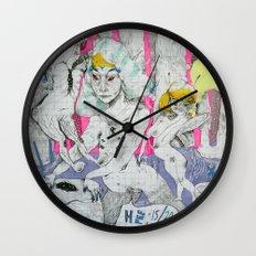 party status Wall Clock