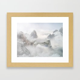 Palace of the Sky Dragons Framed Art Print