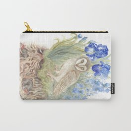 Woodlands and What Lies Beneath Carry-All Pouch