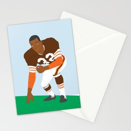 Browns - Jim Brown - 1961 (Vector Art) Stationery Cards