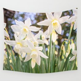 Kiss of Spring Wall Tapestry
