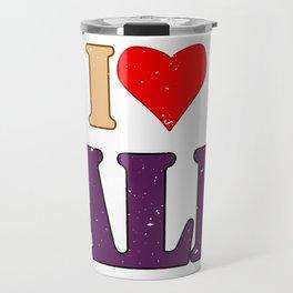 I LOVE ALF - 2 Travel Mug