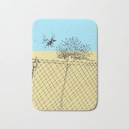 Bird Fence - C Bath Mat