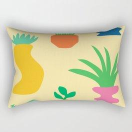 Plant Party Rectangular Pillow