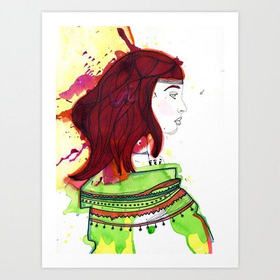 Guajira Art Print