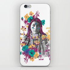 Indian girl iPhone & iPod Skin