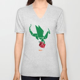 Dragon Dice Unisex V-Neck