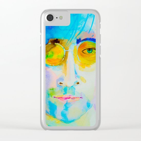 portrait of John Clear iPhone Case