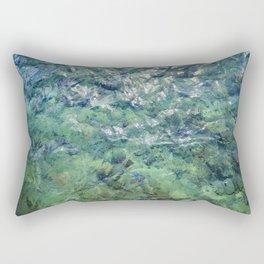 The Water of Bora Bora Rectangular Pillow