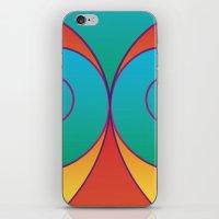 Swirly pretty thingies of goodness iPhone Skin