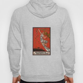 May Day Russian Revolution Poster Hoody