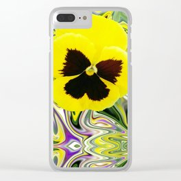 Solo Flower Clear iPhone Case