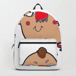 Strawberry Norse Man Backpack