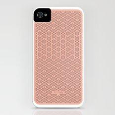 kicking it waffle style Slim Case iPhone (4, 4s)