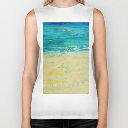 Get to the Beach! Biker Tank