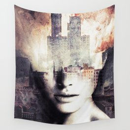 Flames ... Wall Tapestry