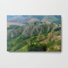 Etrurian Hills Metal Print