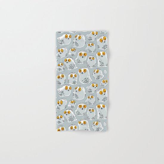 Snowy Owls. Hand & Bath Towel