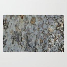TEXTURES -- California Sycamore Bark Rug