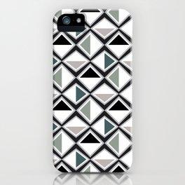 Gray Asymmetry iPhone Case