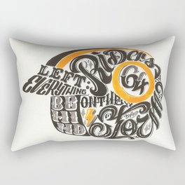 Riders on the Storm Rectangular Pillow