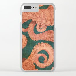 Octopus 1 Clear iPhone Case