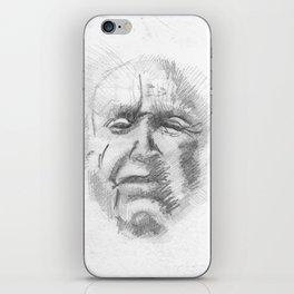 wiseman iPhone Skin