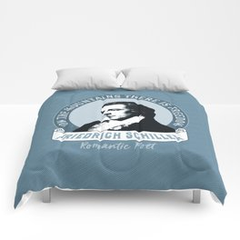 Romantic Poet Mountain Freedom Comforters