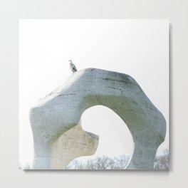 henry's heron Metal Print