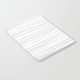 Wave gray lines Notebook