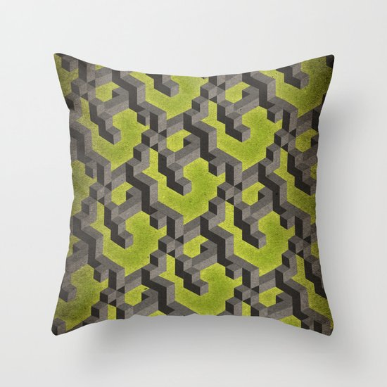 Long-chain Demi-gods of Imperfection Throw Pillow