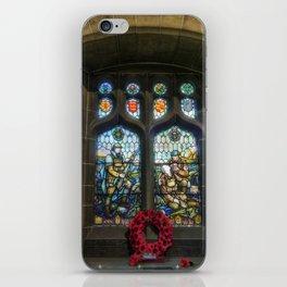 War Memorial Window iPhone Skin