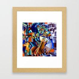 Kazimir Malevich Knife Grinder Framed Art Print