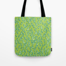 Rockwell Birds - Green Tote Bag