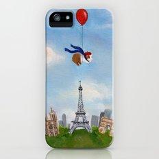 Guinea Pig Over Paris Slim Case iPhone SE