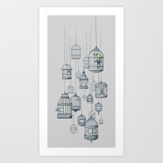 Last Bird in the Shop Art Print