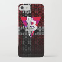 denmark iPhone & iPod Cases featuring bitcoin denmark by seb mcnulty