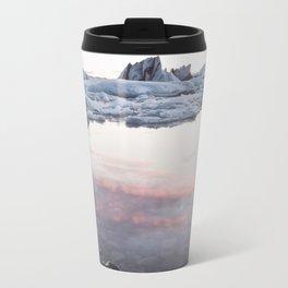 Jokulsarlon Lagoon - Sunset - Landscape and Nature Photography Travel Mug