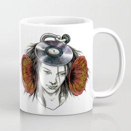 Record Head Coffee Mug