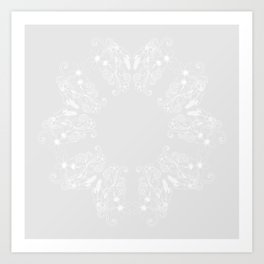New Zealand Flora Flower Art Print