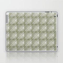Modern Geometric Pattern 7 in Sage Green Laptop & iPad Skin