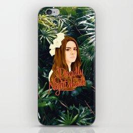 Lana Deadly Nightshade iPhone Skin