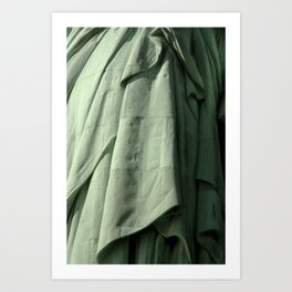 Lady Liberty's Robe #2 Art Print