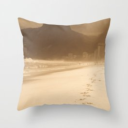 Memories f Ipanema Throw Pillow